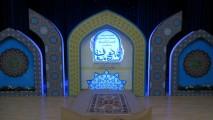 ساخت دکور مسابقات سراسری قرآن کریم (مدها متان)